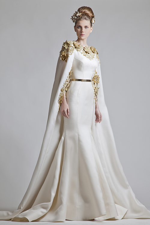 Long Capes From Krikor Jabotian For Wedding Gowns Brides Weddinggown Weddingdress